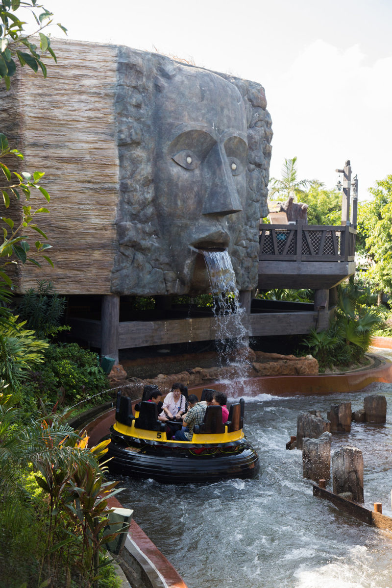 You know how many parks charge you to spray water at people on the rapids ride? Not here!