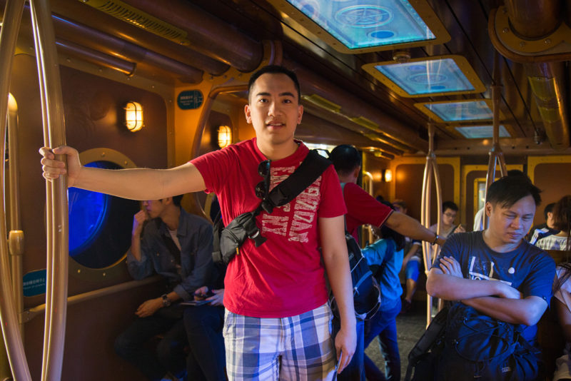 Off to Hogwarts? Nope, it's just the Ocean Express.