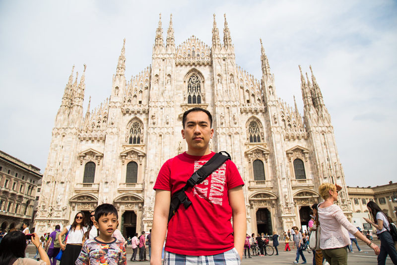 Tie and Duomo