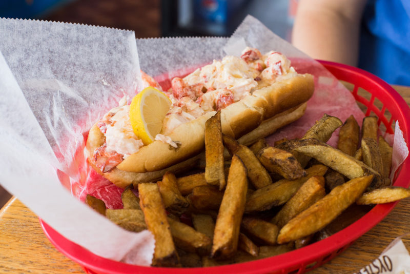 Large lobster roll!