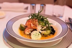 Maine Lobster in Tarragon Bisque