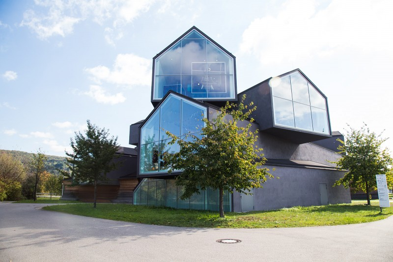 """A glimpse into various """"houses"""" in Vitra Haus"""