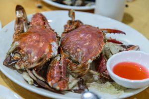 More crabs