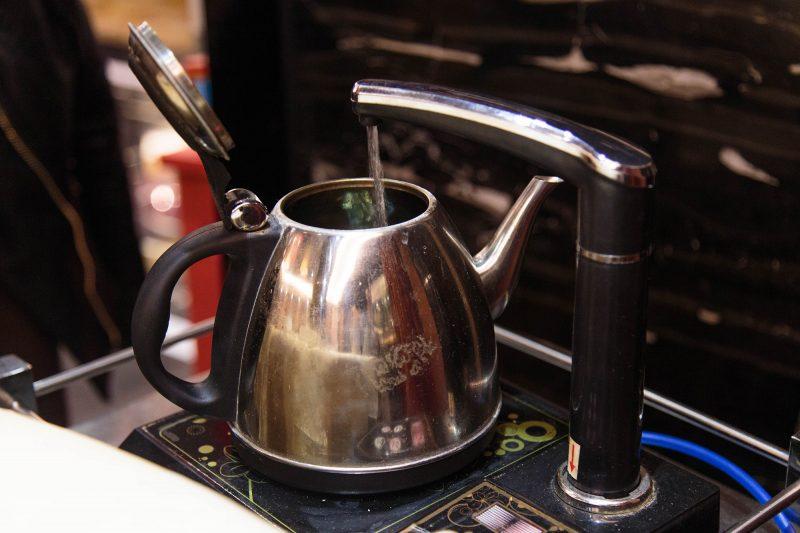 DIY water boil for tea